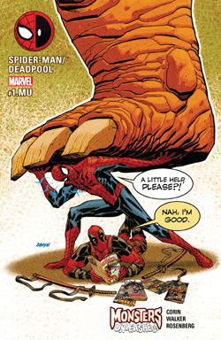 Spider-Man/Deadpool 1MU cover