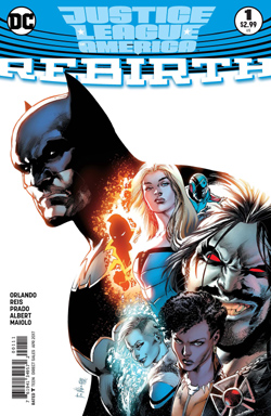 JLA Rebirth 1 cover