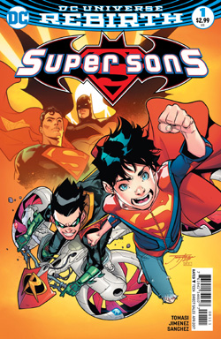 Super Sons 1 cover