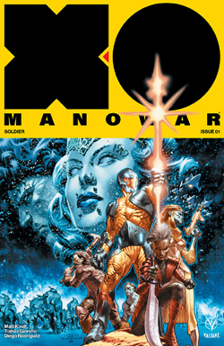 X-0 Manowar 1 cover