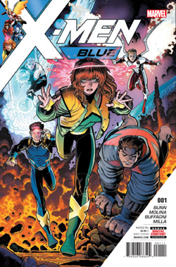 X-Men Blue 1 cover
