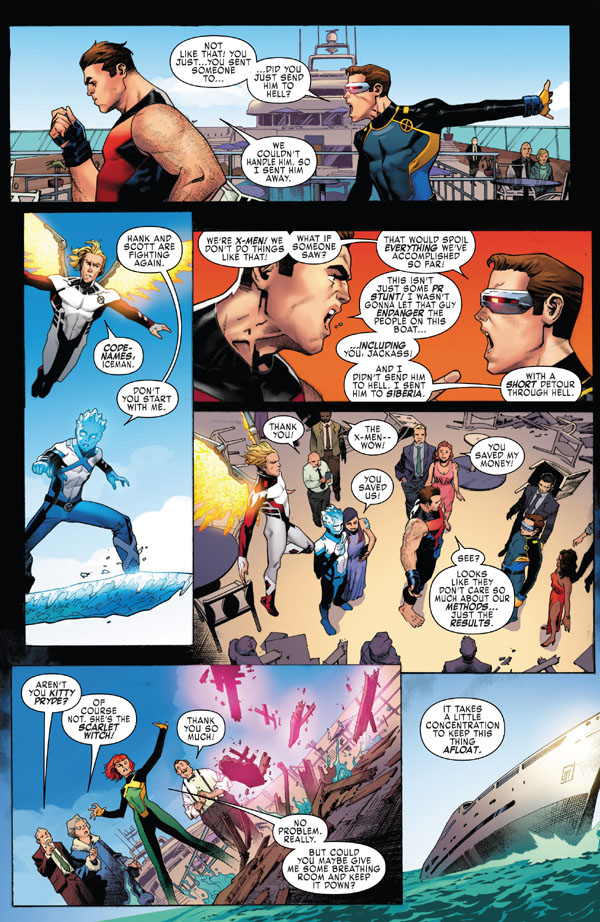 X-Men Blue 1 preview