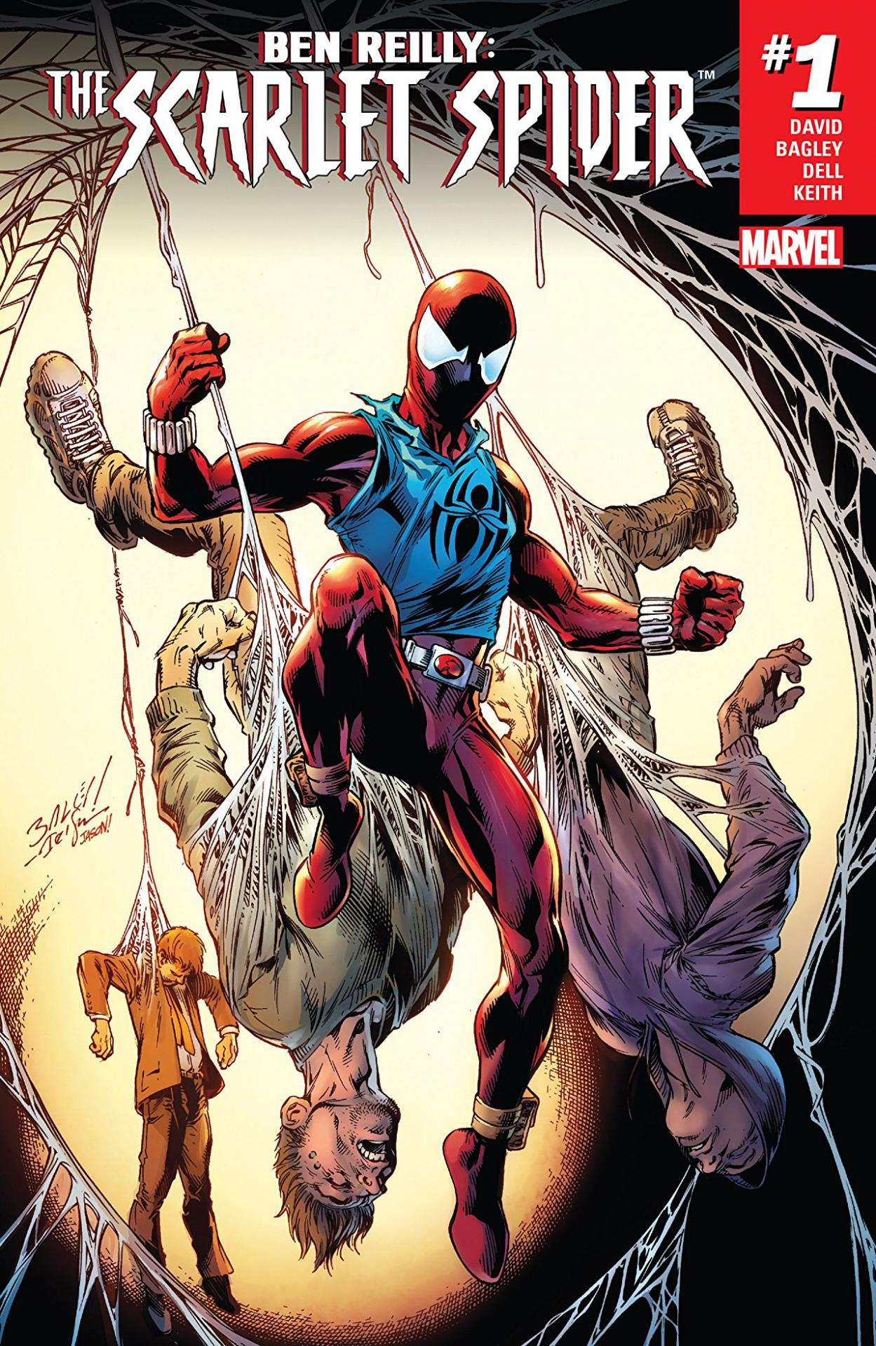 scarlet spider cover