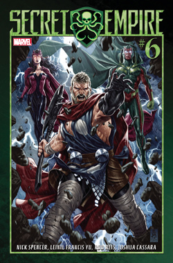 Secret Empire 6 cover