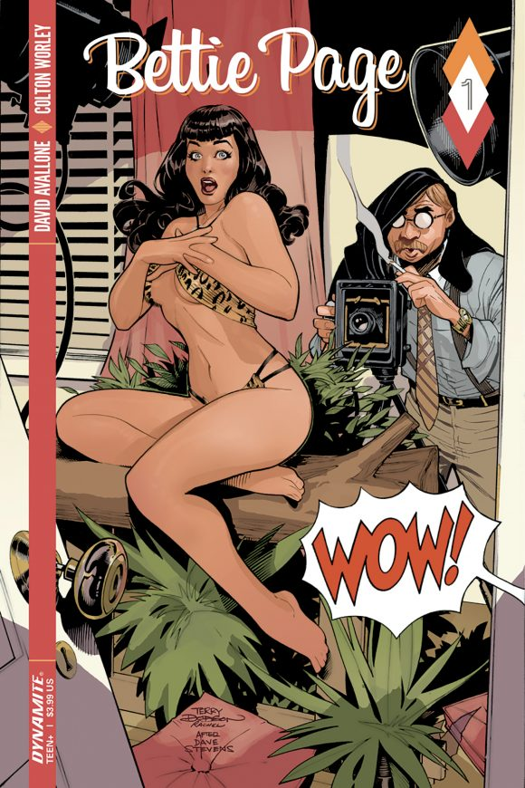Bettie Page Cover A
