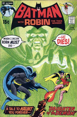 Ra's Al Ghul - First Issue