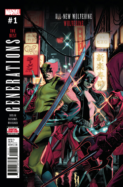 Generations Wolverine 1 cover