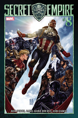 Secret Empire 8 cover