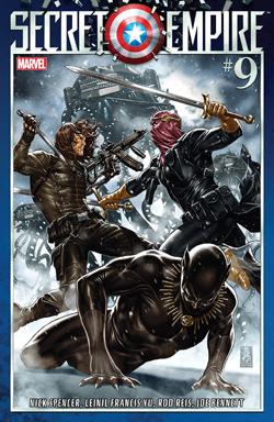 Secret Empire 9 cover