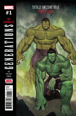 Generations Hulk 1 cover