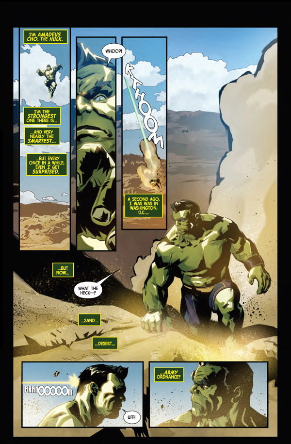 Generations Hulk 1 preview