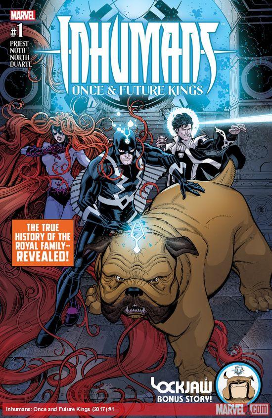 Inhumans cover