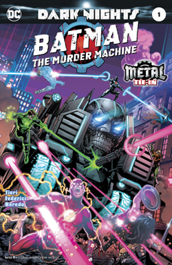Batman: The Murder Machine 1 cover