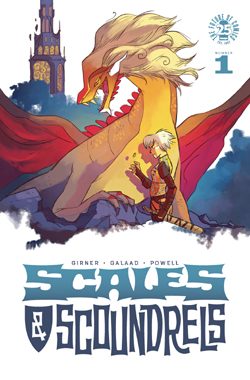 Scales & Scoundrels 1 cover