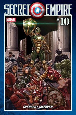 Secret Empire 10 cover