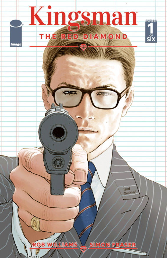 Kingsman Red Diamond Cover