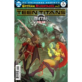 Teen Titans 12 Cover