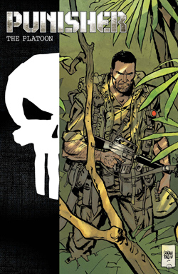 Punisher The Platoon 1 cover