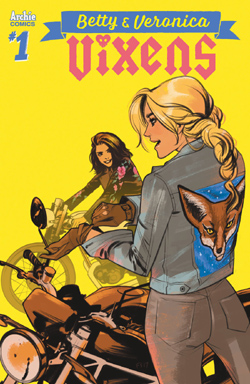 Betty & Veronica Vixens 1 cover