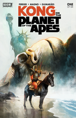 Kong on the Planet of the Apes cover