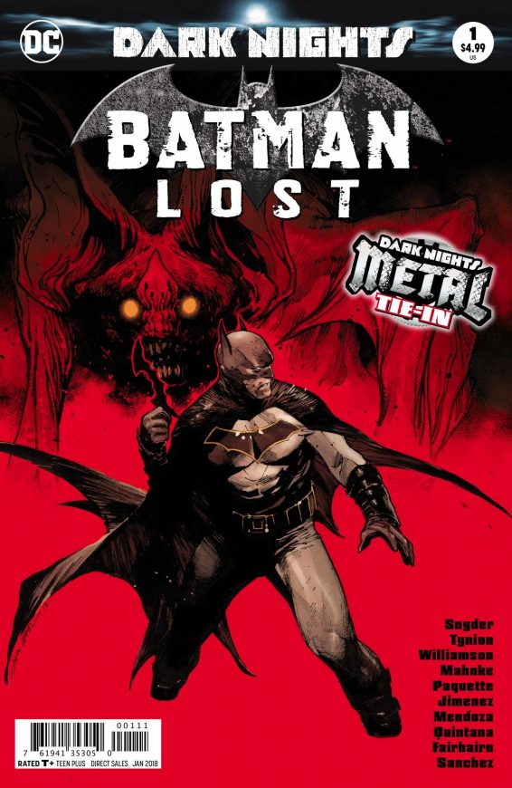 Batman Lost Cover
