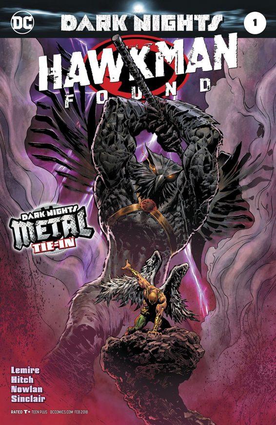 Hawkman Found Cover