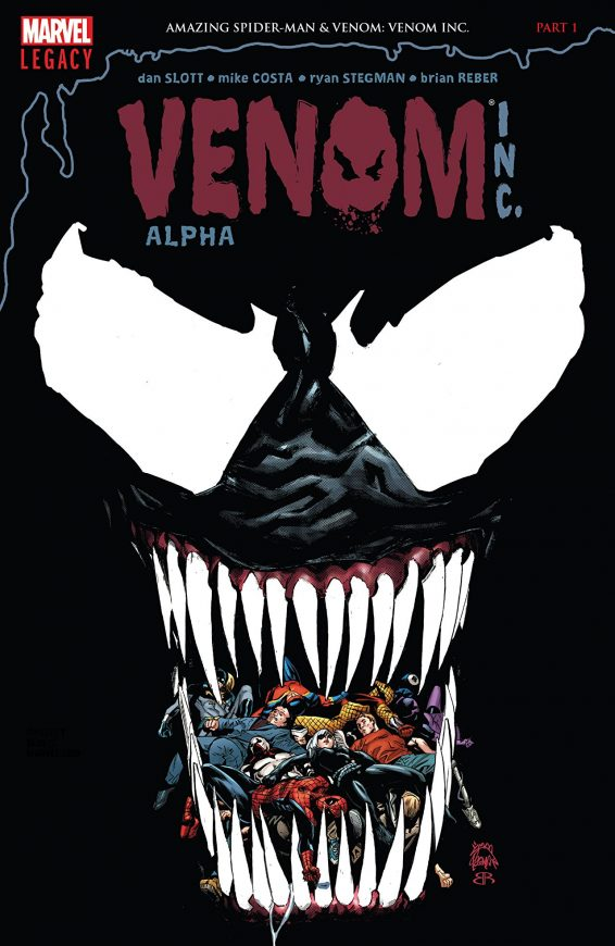 Venom Inc Alpha cover