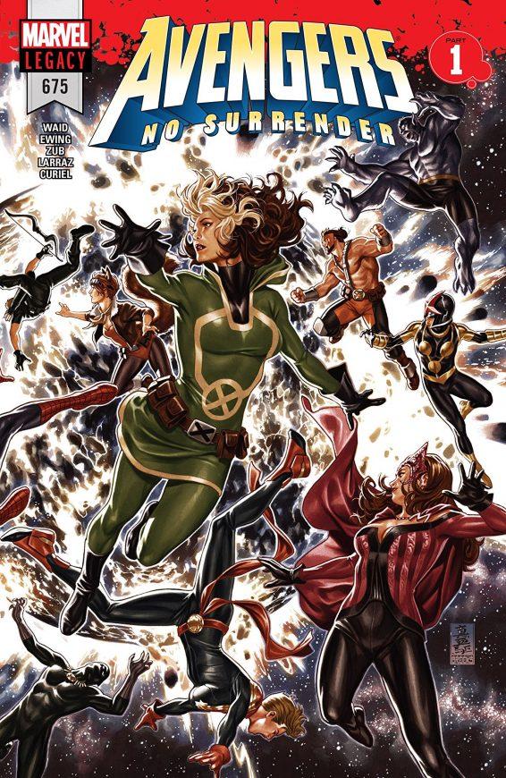 Avengers 675 Cover