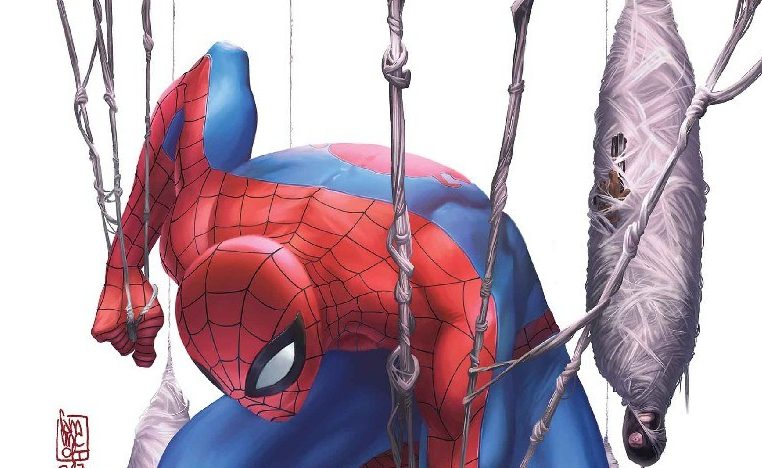 Spider-man Master Plan Variant Cover