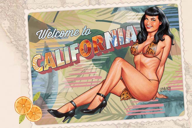 Bettie Page Featured