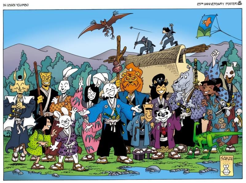 A Brief History Of Character Usagi Yojimbo Alpha Comics