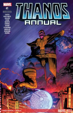 Thanos Annual Cover