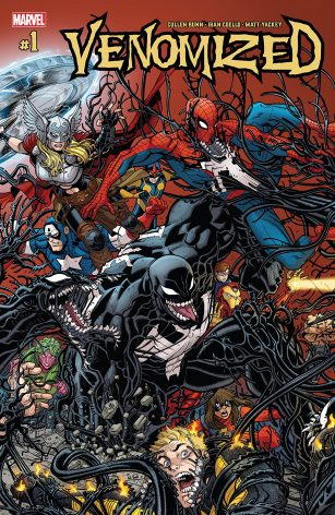 Venomized #1 Cover